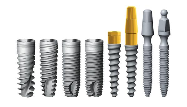 Модельный ряд имлантатов AlphaBio фото