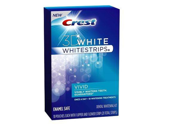 полоски Crest Whitestrips