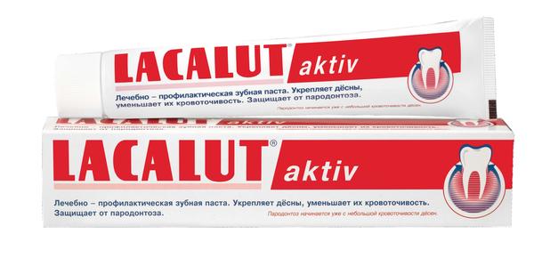 Линейка зубных паст Lacalut